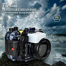 Sponsored Ad - Seafrogs Photography Underwater 40m Camera Waterproof Housing for Sony A6000 A6300 A6400 A6500 Water Sport ...