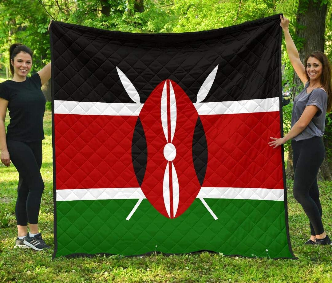 Personalized Kenya F-lag Direct sale of manufacturer Quilt - of Symbol A Manufacturer direct delivery Country Qui