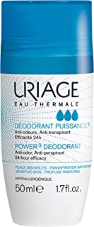 Uriage Power 3 Roll On Deodorant, 50ml