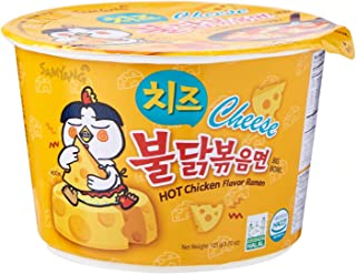 Samyang Cheese Hot Chicken Noodles, 105 gm