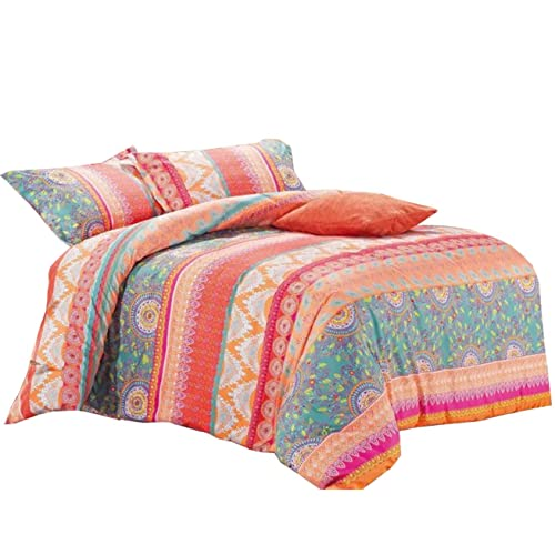 Coral Color Bedding For King Amazon Com