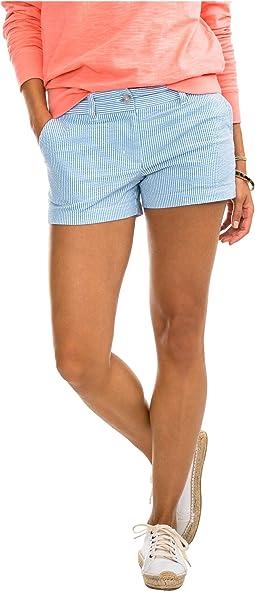 "3"" Leah Seersucker Shorts"