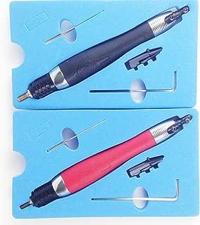 guangshun 2PCS Ultrasonic File Mold Finishing Air Grinder Mould Polishing Pneumatic Tools Buffing Kits