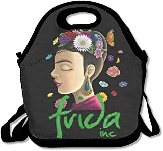 PPAP3 Customized Frida Kahlo Lunch Tote Bag With Adjustable Straps