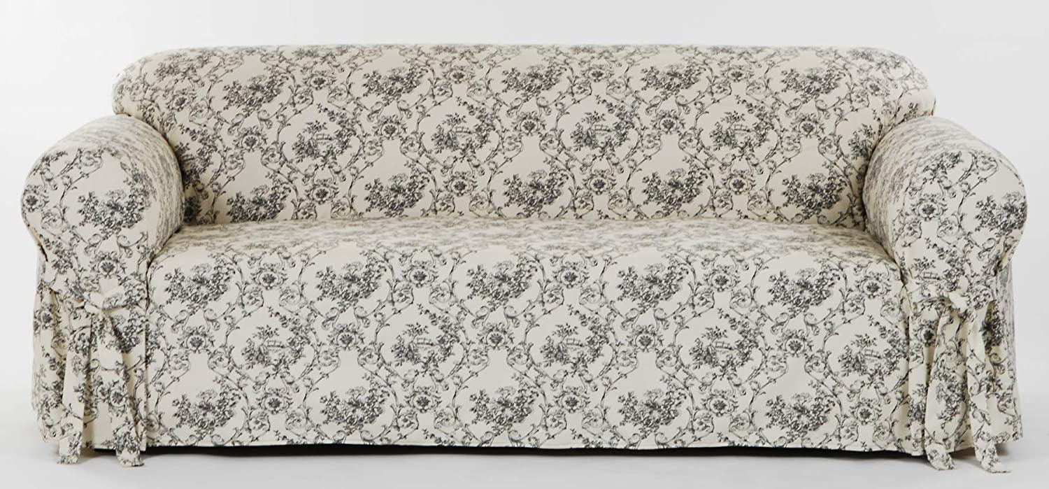 Classic Slipcovers Limited time cheap sale Toile Spring new work one after another Print loveseat 78