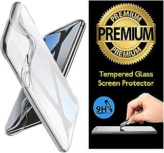 Cekuonline® Asus Zenfone 4 Max ZC554KL Kılıf Kapak 0.2 mm Şeffaf Silikon + Temperli Kırılmaz Cam Ekran Koruyucu
