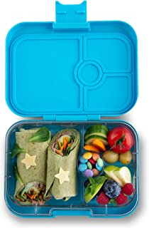 Yumbox Panino Leakproof Bento Lunch Box Container for Kids and Adults (Nevis Blue)