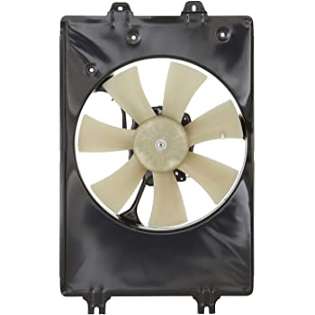 A//C Air Conditioning Condenser Cooling Fan Assembly Right for 06-08 Ridgeline