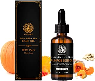 100% Pure Pumpkin Seed Oil for Massage, 30ml Carrier Oil - Pumpkin Seed Oil for Skin Care, 1oz Base Oil - Pumpkin Seed Oil...