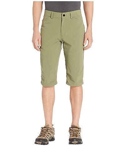Mountain Hardwear Logan Canyontm 3/4 Pants (Light Army) Men