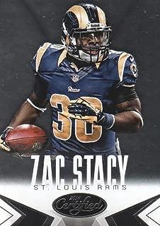 2014 Panini Certified Football #91 Zac Stacy St. Louis Rams
