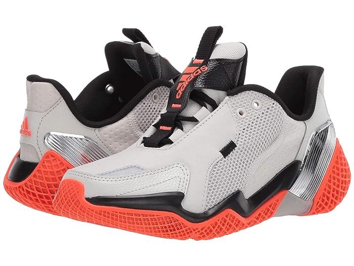 adidas Kids  4uture Rnr (Big Kid) (Orbit Grey/Solar Red/Black) Boys Shoes