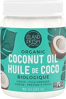 Island Fresh Superior Organic Virgin Coconut Oil, 54 Ounce ( Packaging May Vary )