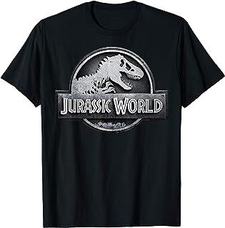 Jurassic World Two Stone Logo Icon T-Shirt
