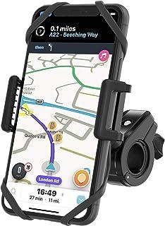 TruActive - نسخه جدید حق بیمه! - دارنده تلفن دوچرخه ضد لرزش جهانی برای دوچرخه ، موتور سیکلت ، ATV ، دوچرخه کوهستان - 360 درجه چرخش - آی فون. سامسونگ ، هواوی ، گوگل ، و غیره - 6 رنگ شامل!