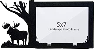 Majestic Moose 5X7 Horizontal Picture Frame