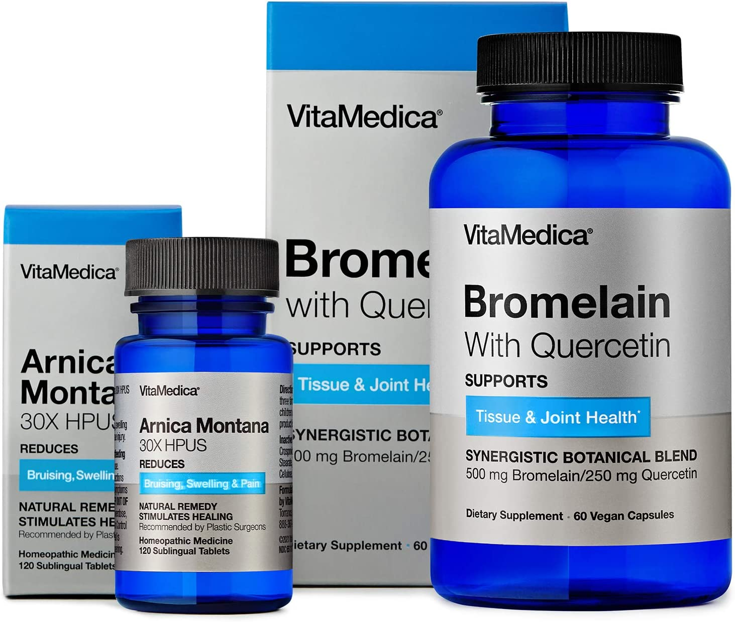 VitaMedica Arnica + Bromelain Bundle 10 Special price for a limited time Supply High quality Day
