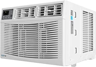 hOmeLabs 10,000 BTU Window Air Conditioner - Energy Star Certified AC Unit with Digital Thermostat and Easy-to-Use Remote ...
