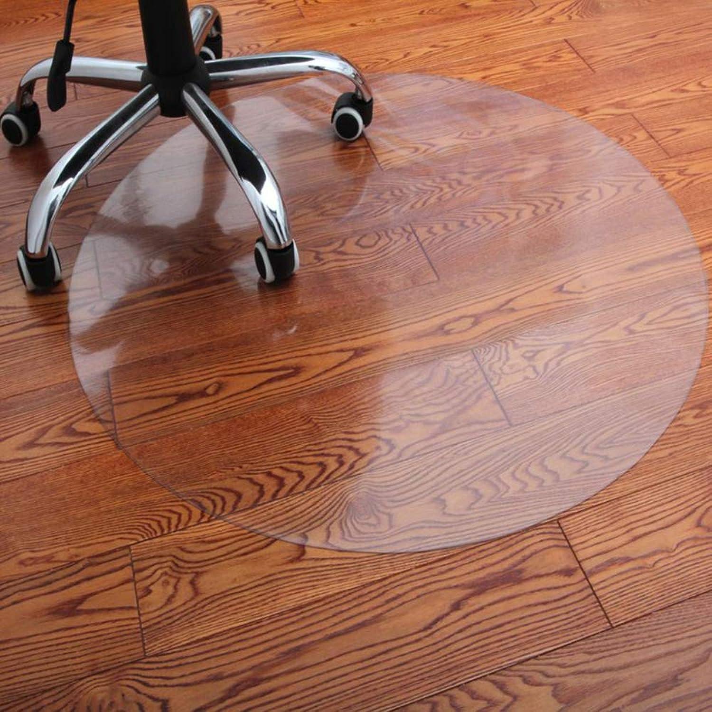 Office Chair Mat for Hard Floors   Round   60cm Diameter   6 Sizes   Highly Transparent,2mm-Diameter(120cm)