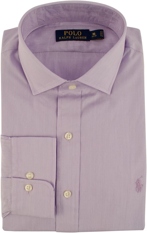 Men's Classic Fit Hairline Stripe Dress Shirt-PkW-15.5-34/35