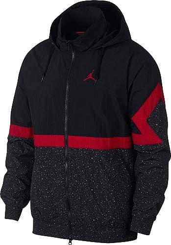 Nike Jordan Diamond CeHommest - Taille XL - Veste Coupe-Vent pour Homme - Couleuris Noir