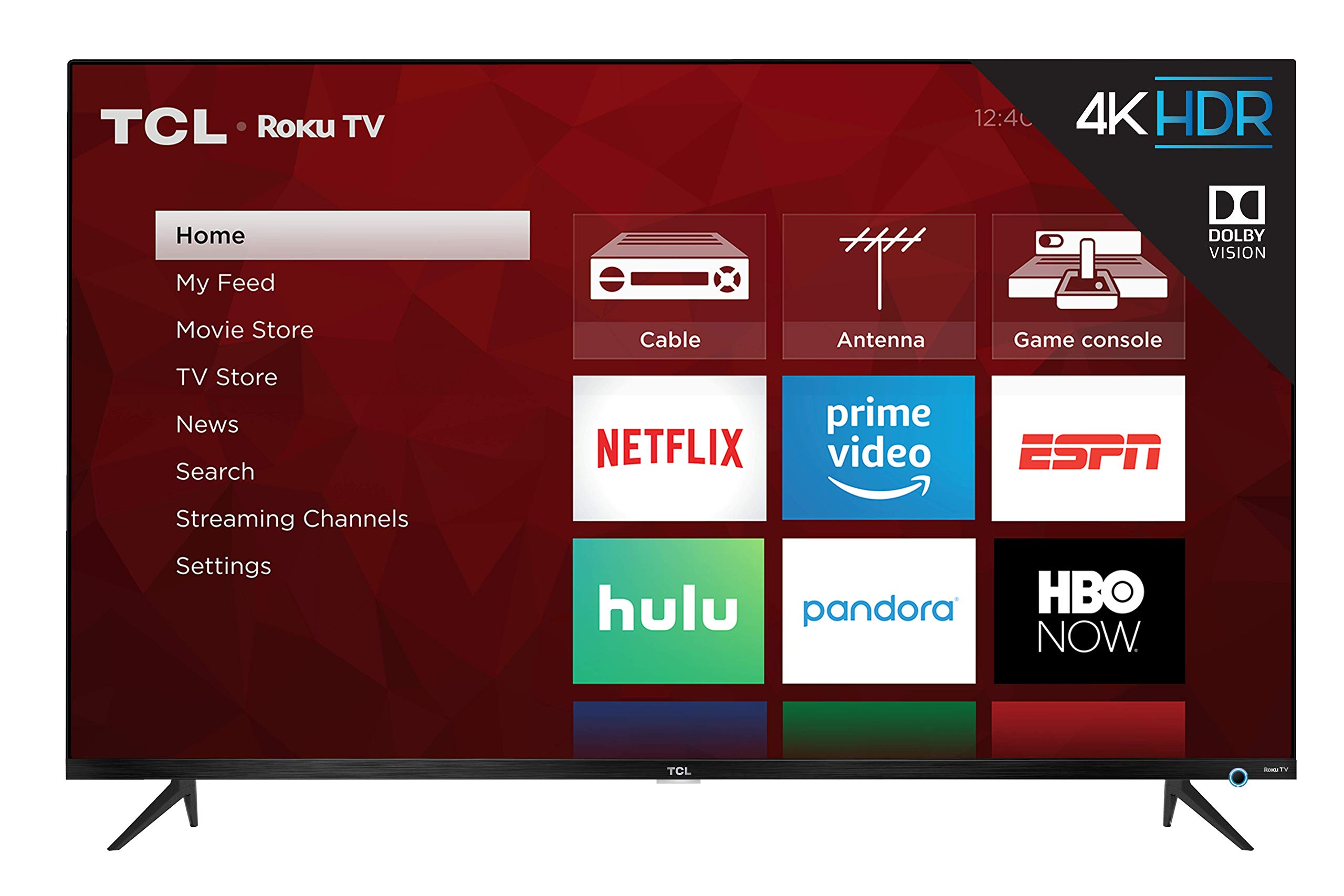 TCL Class 5-Series 4K UHD Dolby Vision HDR Roku Smart TV vídeo juego: Amazon.es: Electrónica