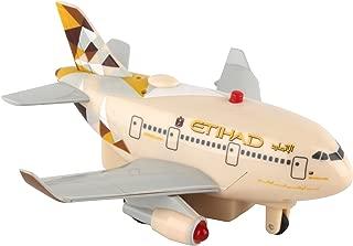 Daron Worldwide Trading Etihad Airways Pullback Plane with Lights & Sound