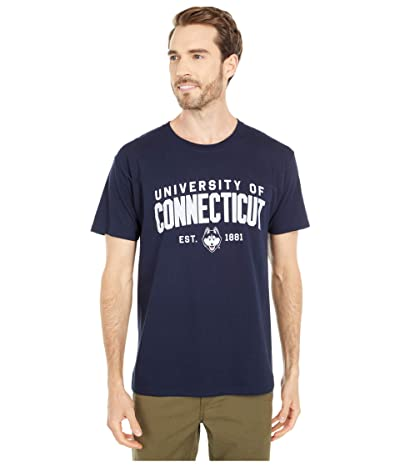 Champion College UConn Huskies Jersey Tee (Navy 1) Men