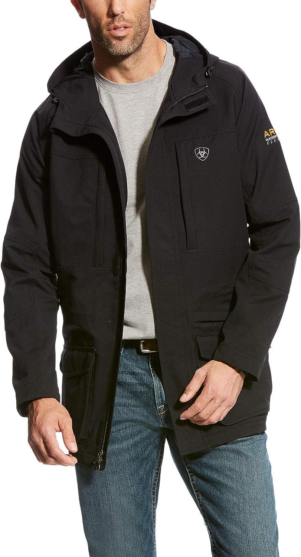 ARIAT Men's Rebar Storm Fighter Waterproof Jacket