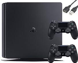 Sony PlayStation 4 PS4 Slim 1TB Gaming Console : FHD High Dynamic Range (HDR) Parental Control Capability Blu-Ray Player B...