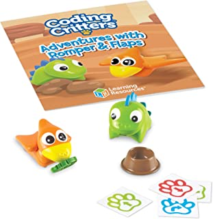 Learning Resources LER3092 Coding Critters Pair-A-Pets Adventures with Romper & Flaps