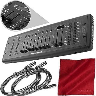 ADJ Products DMX Operator DJ Controller, Multicolor with Accessory Bundle