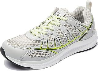 Josaywin Straßenlaufschuhe Mesh Atmungsaktiv Turnschuhe Herren Sportschuhe Walking Schuhe Freizeit Fitnessschuhe Leichtgew...