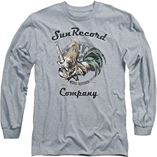 2Bhip Sun Records Media Record Label Rockin Rooster Logo Adult Long Sleeve T-Shirt