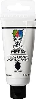 Ranger Dina Wakley Media Heavy Body Acrylic Paint, 2-Ounce, Night