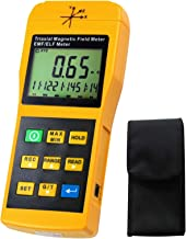 Triaxial Magnetic Multi-Field Tester EMF/ELF Meter Frequency response 30Hz ~ 2000 Hz Radiation Detector LCD max reading 9999