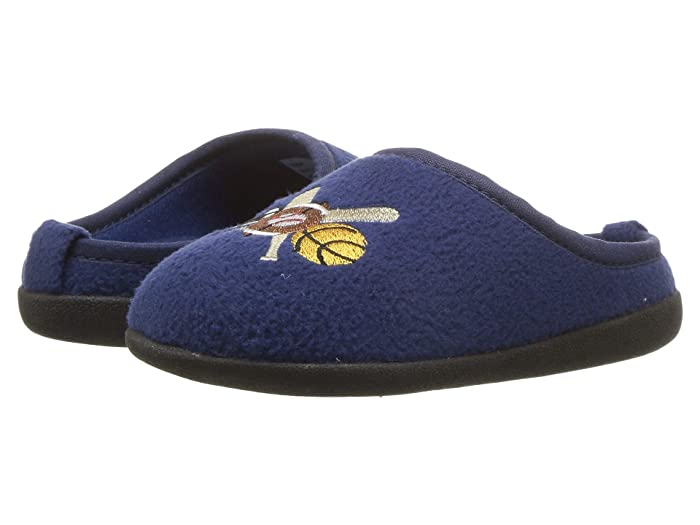 Image of Blue Sports Slippers for Boys and Toddler Boys
