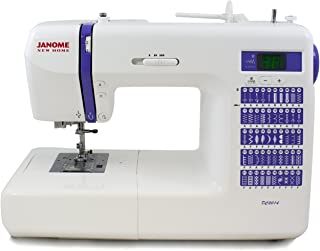 Janome 001DC2014 Computerized Sewing Machine with 50 Built-in Stitches, Purple