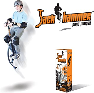 Geospace Jumparoo JACK HAMMER Extreme Pogo Jumper by Air Kicks, LARGE, 154-176 Lbs. (70-80 Kgs.)