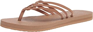 Sanuk Women's Yoga Sandy Sandal, Tobacco Brown, 7 M US