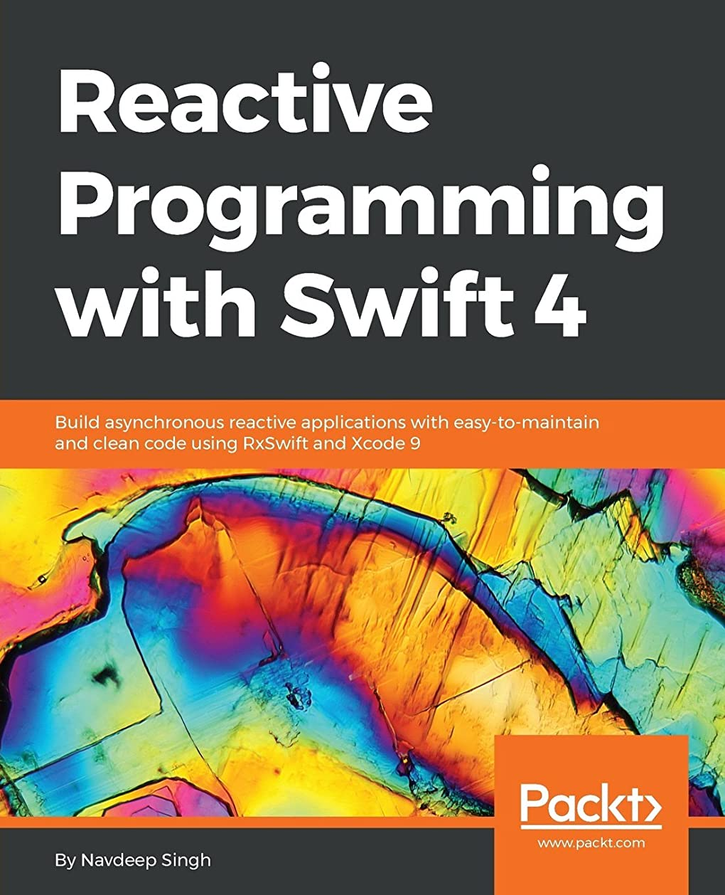 ブース楽しいシャイニングReactive Programming with Swift 4: Build asynchronous reactive applications with easy-to-maintain and clean code using RxSwift and Xcode 9