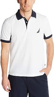 Men's Classic Fit Short Sleeve Performance Pique Polo Shirt