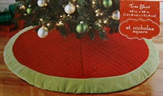 St. Nicholas Square Quilted 48-in. Tree Skirt
