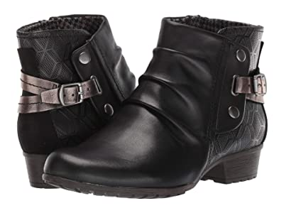 Cobb Hill Gratasha Hardware Boot (Black) Women