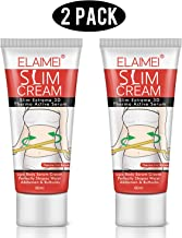 ELAIMEI Hot Cream (2 Pack), Body Fat Burning Cream, Weight Losing Cream, Anti-Cellulite..