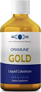 Immune Therapy Research Lab's Oramune Gold | 4 oz. Liquid Colostrum