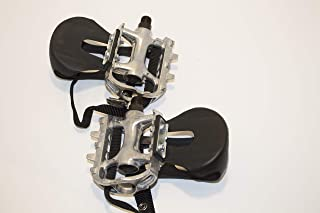 Lew All Fitness Solutions Replacement Pedal Set for Indoor Cycles - 25 Left/25 Right - Comes As a Set - Replacement Pedals for Sole, Spirit, and Fuel Indoor Cycles - Check Description