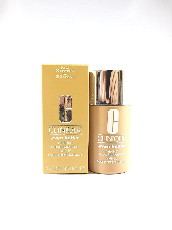 調整するキャビン論理Even Better Makeup SPF 15 - # 06 Honey (MF-G) - Dry To Combination Oily Skin