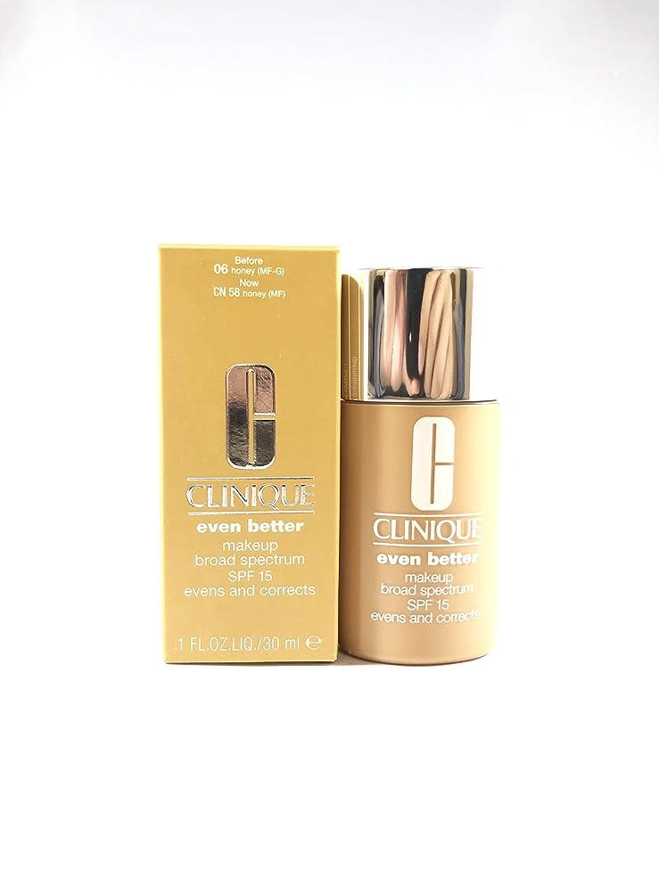 感情ワイプ翻訳者Even Better Makeup SPF 15 - # 06 Honey (MF-G) - Dry To Combination Oily Skin
