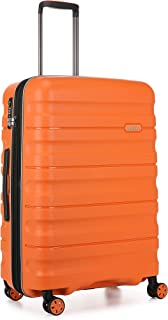 Antler 4227108016 Juno 2 4W Medium Roller Case Suitcases (Hardside), Orange, 68 cm